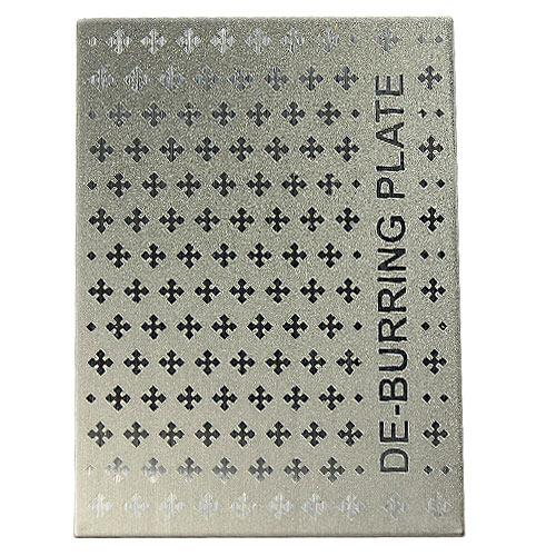 M-POWER Fasttrack Diamond Cross De-Burring Plate, 1000 Grit