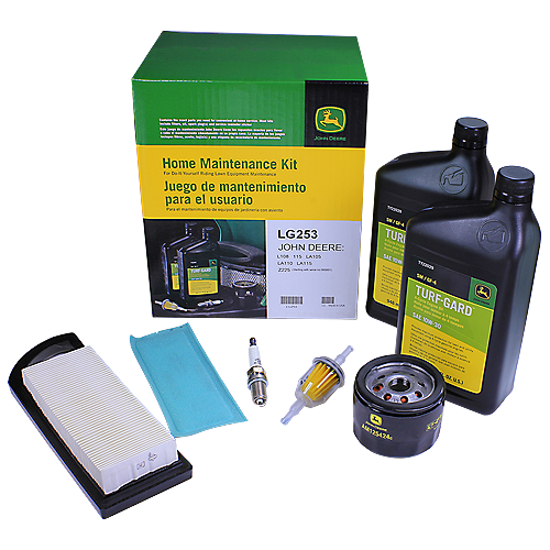 JOHN DEERE #LG253 HOME MAINTENANCE KIT FOR 115, L108, LA105, LA110, LA115, Z225
