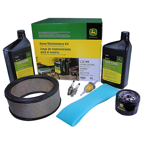 JOHN DEERE #LG199 HOME MAINTENANCE KIT FOR L130, G100, G110, SABRE, AND SCOTTS