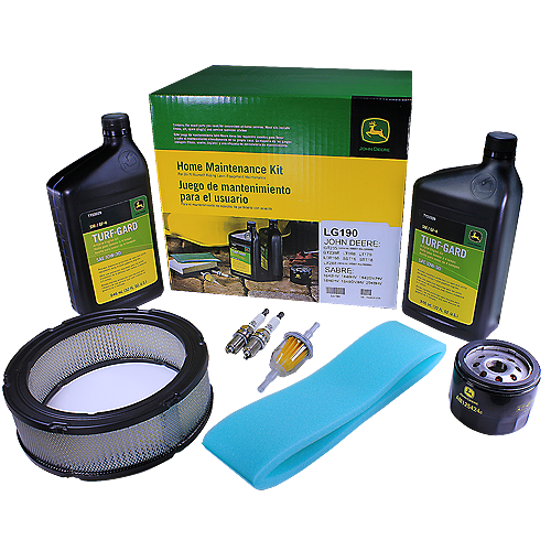JOHN DEERE #LG190 HOME MAINTENANCE KIT FOR GT, LT, LX, AND SST SERIES