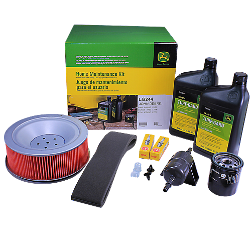 JOHN #LG244 DEERE HOME MAINTENANCE KIT FOR X485, X485SE, 585, 585SE, X720, X724, X728, X728SE, X729