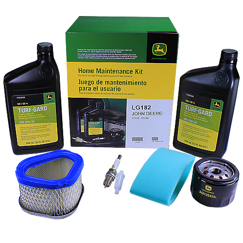 John Deere #LG182 Home Maintenance Kit For STX