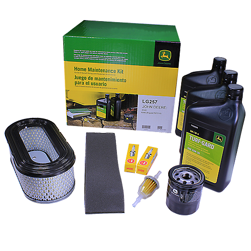 JOHN DEERE #LG257 HOME MAINTENANCE KIT FOR SELECT SERIES X520, X540
