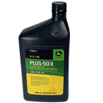 JOHN DEERE #TY26674 PLUS-50 II SAE 15W-40 PREMIUM ENGINE OIL - 32 OZ.