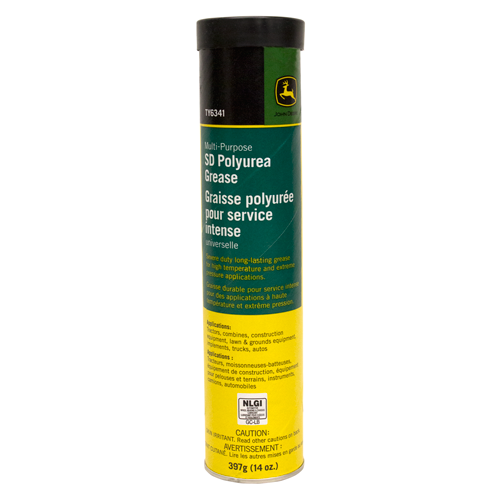 JOHN DEERE #TY6341 MULTI-PURPOSE SD POLYUREA GREASE - 14 OZ