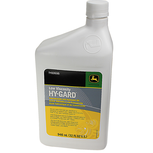 John Deere TY22035 Low Viscosity Hy-Gard Transmission & Hydraulic Oil, 32 oz