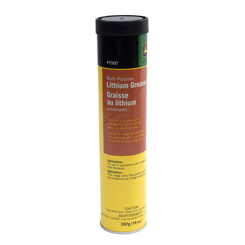 JOHN DEERE #PT507 MULTI-PURPOSE LITHIUM GREASE - 14 OZ