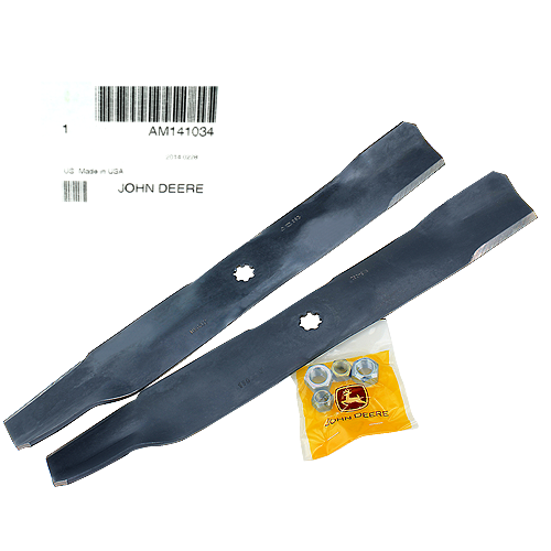 John Deere #AM141034 Bagging Blade Kit - For 100, LA, LT, SST, Select, & EZtrak Series
