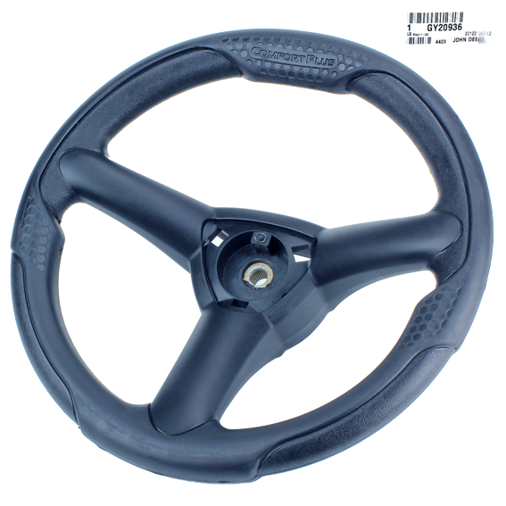 JOHN DEERE #GY20936 STEERING WHEEL