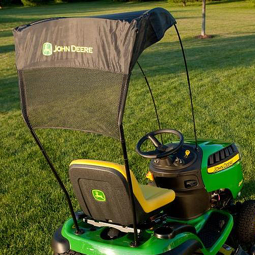 JOHN DEERE #LP51702 CARGO MOUNT LAWN TRACTOR CANOPY KIT - 100 SERIES - IN USE : john deere canopy for lawn tractor - memphite.com