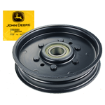 JOHN DEERE #AM37249 MOWER DECK FLAT IDLER PULLEY