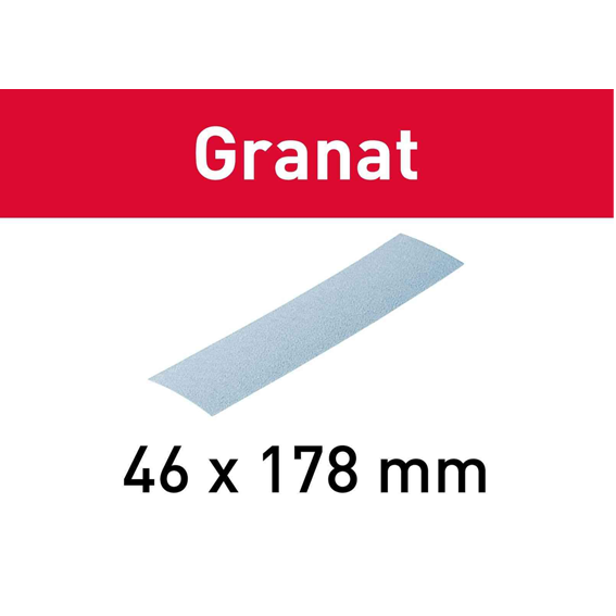 Festool 204277 Granat Pocket StickFix Abrasives - P80 - 10 Pk.