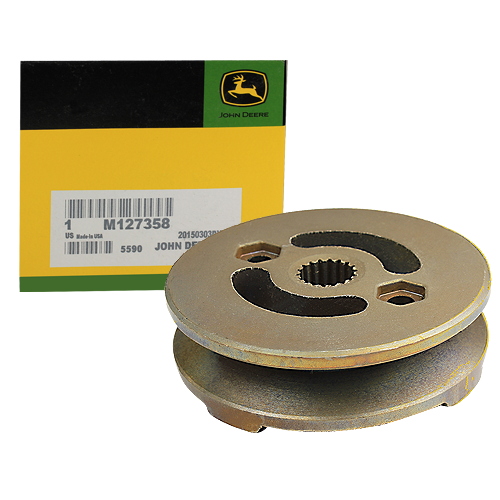 JOHN DEERE #M127358 TRANSMISSION DRIVE PULLEY