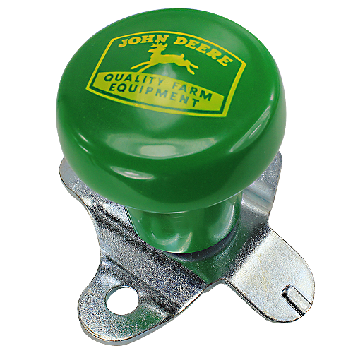 JOHN DEERE #TY16330 GREEN STEERING WHEEL SPINNER KNOB