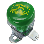 JOHN DEERE #TY16330 GREEN STEERING WHEEL SPINNER KNOB