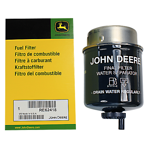 John Deere #RE62418 Spin On Fuel Filter