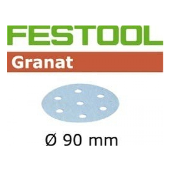 Festool 497850 Granat P280 Disc Abrasives - 90mm - 100 Pk.