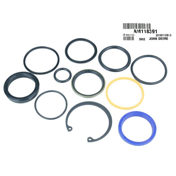 John Deere #AM118391 Hydraulic Cylinder Seal Repair Kit