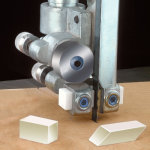 SPACE AGE CERAMIC BAND SAW GUIDE BLOCKS - IMPORT 14