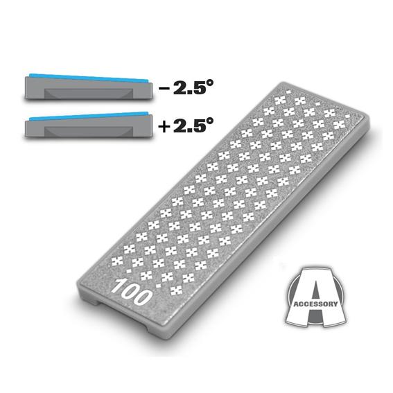 M-Power Diamond Cross Angled Extra Coarse Diamond Stone