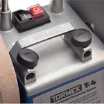 Tormek T-4 Sharpening System - Built-in Handle Close-up