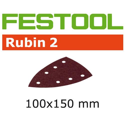 Festool 499141 Rubin 2 P40 Delta Abrasives - 100 x 150mm - 10 Pk