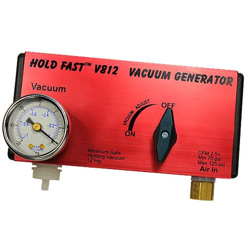 HOLD FAST #V812 VACUUM GENERATOR W/ REGULATOR