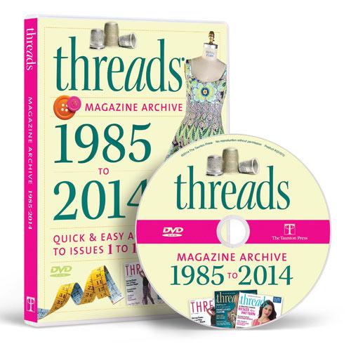THREADS MAGAZINE 2014 ARCHIVE DVD-ROM