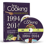 FINE COOKING MAGAZINE 2014 ARCHIVE DVD-ROM