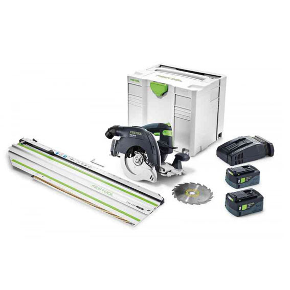 Festool 575737 HKC 55 Li EBI-Set-FSK 420 SCA Cordless Carpentry Saw
