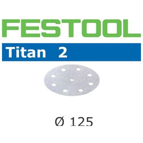 Festool 492971 Titan 2 P240 Disc Abrasives - 125mm - 100 Pk