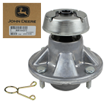 JOHN DEERE #AM144377 MOWER DECK BEARING HOUSING ASSEMBLY