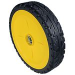 JOHN DEERE #GY21081 WHEEL & TIRE ASSEMBLY FOR JS SERIES WALK BEHIND MOWERS