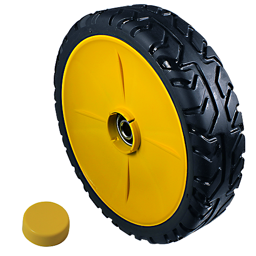 JOHN DEERE #GX22574 FRONT WHEEL & TIRE ASSEMBLY