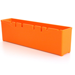 Festool 498042 Orange Plastic Systainer Container Boxes - 2 Pk