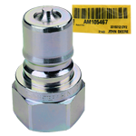 John Deere #AM105467 Male Hydraulic Quick Coupler Plug