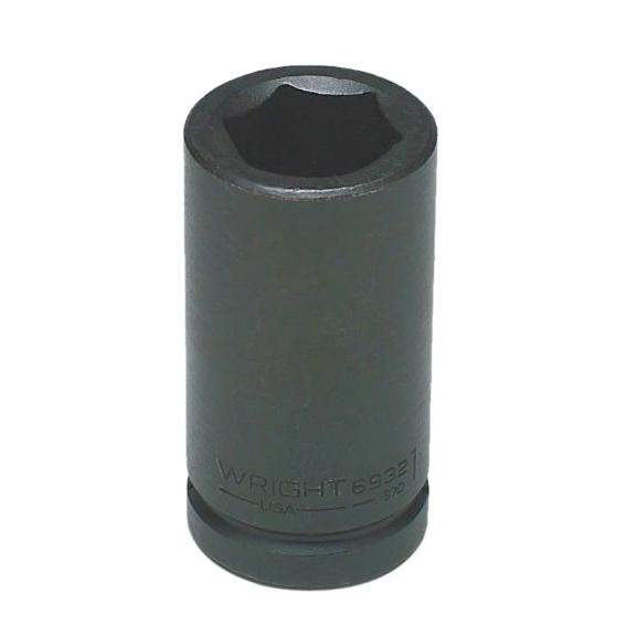 Wright Tool #6948 3/4 Drive 6 Pt. Deep Impact Socket, 1-1/2