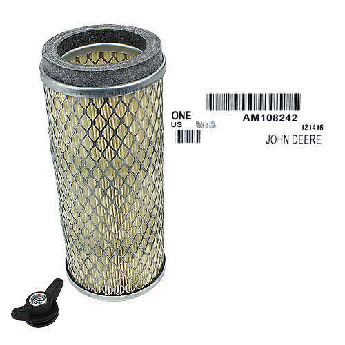 JOHN DEERE #AM108242 PRIMARY OUTER AIR FILTER ELEMENT