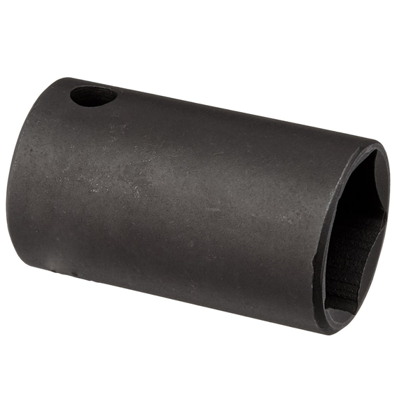 Wright Tool #9076 1/2 Drive 5 Pt. Thin Wall Black Penta Socket, 13/16