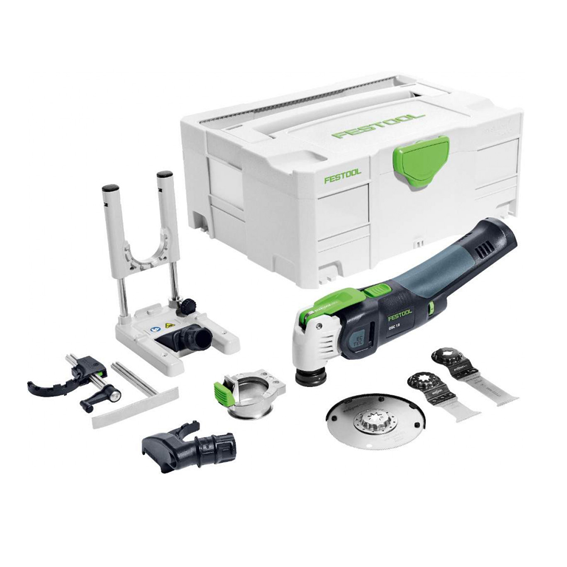 Festool 574850 Vecturo OSC 18 Cordless Oscillating Multi-Tool Basic Set
