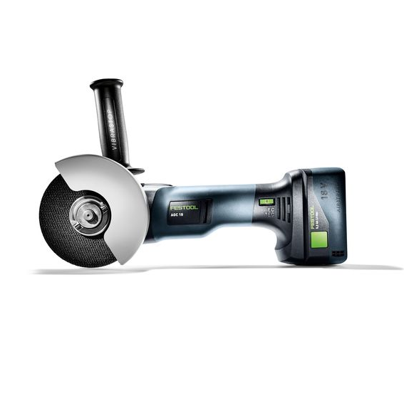 Festool 575348 Cordless Angle Grinder AGC 18-125 Li 5 2 EBI-Plus - Side View