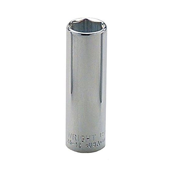Wright Tool #3530 3/8 Drive 6 Point Deep Socket, 15/16