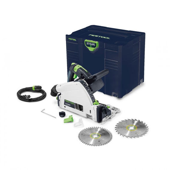 Festool 576689 Emerald Edition TS 55 REQ Saw & Bonus Saw Blade