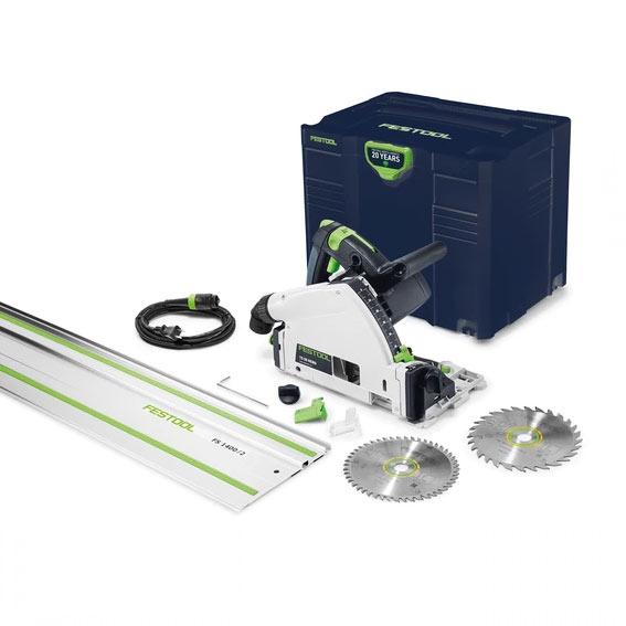 Festool 576688 Emerald Edition TS 55 REQ Saw w/55 Inch Guide Rail & Bonus Blade