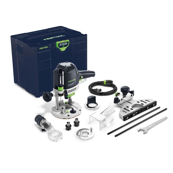 Festool 576692 Emerald Edition OF 1400 EQ Router & Bonus Edge Guide