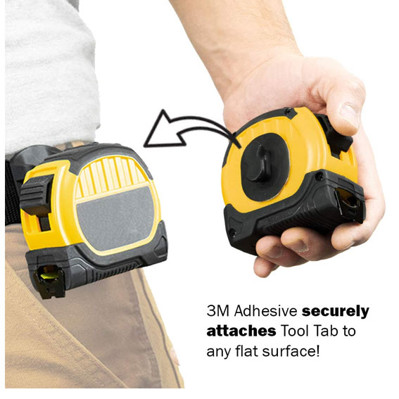 Spider Tool Holster 5005TH Tape Measure Set - In Use