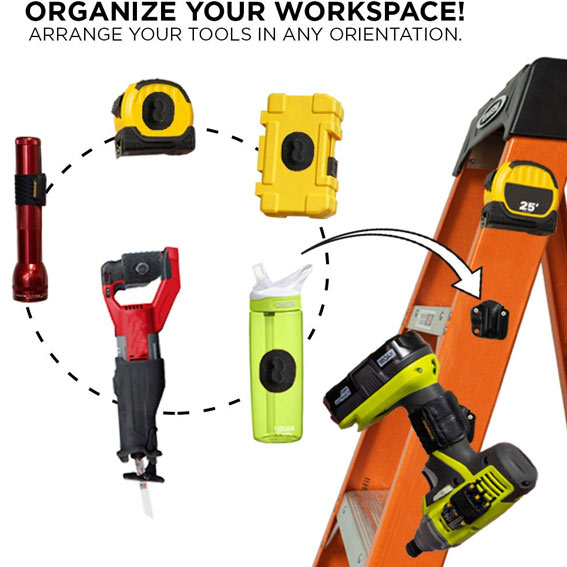 Spider Tool Holster 5025TH Tool Docks - In Use