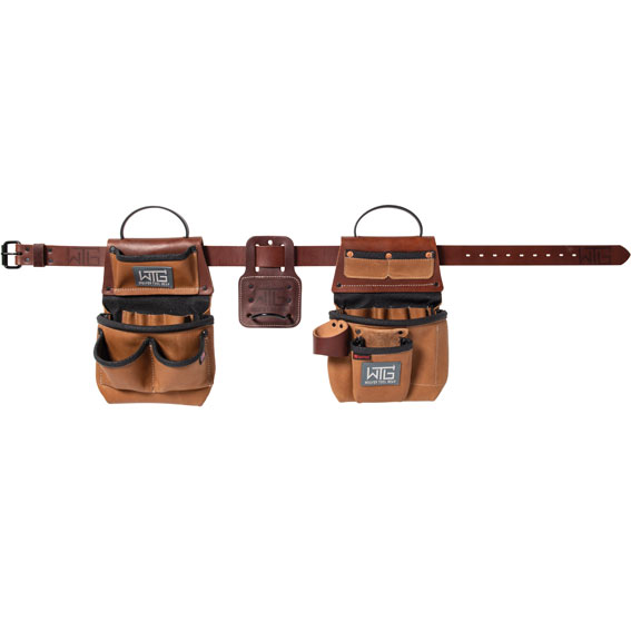 Weaver Leather 85201-45-01 Heavy Leather Trimmer Tool Belt, Small / Medium