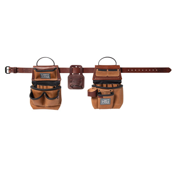Weaver Leather 85201-65-01 Heavy Leather Trimmer Tool Belt, Large / X-Large