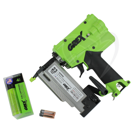 Grex GCP650 23 Gauge 2 Cordless Headless Pinner & Free Fuel Cartridges